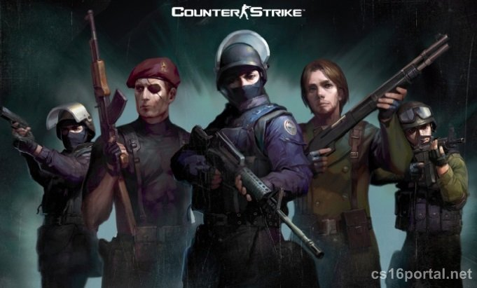 Скриншот Counter Strike 1.6 с модами