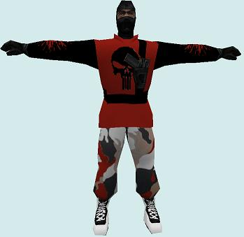 Скриншот artic reskin (red and black)