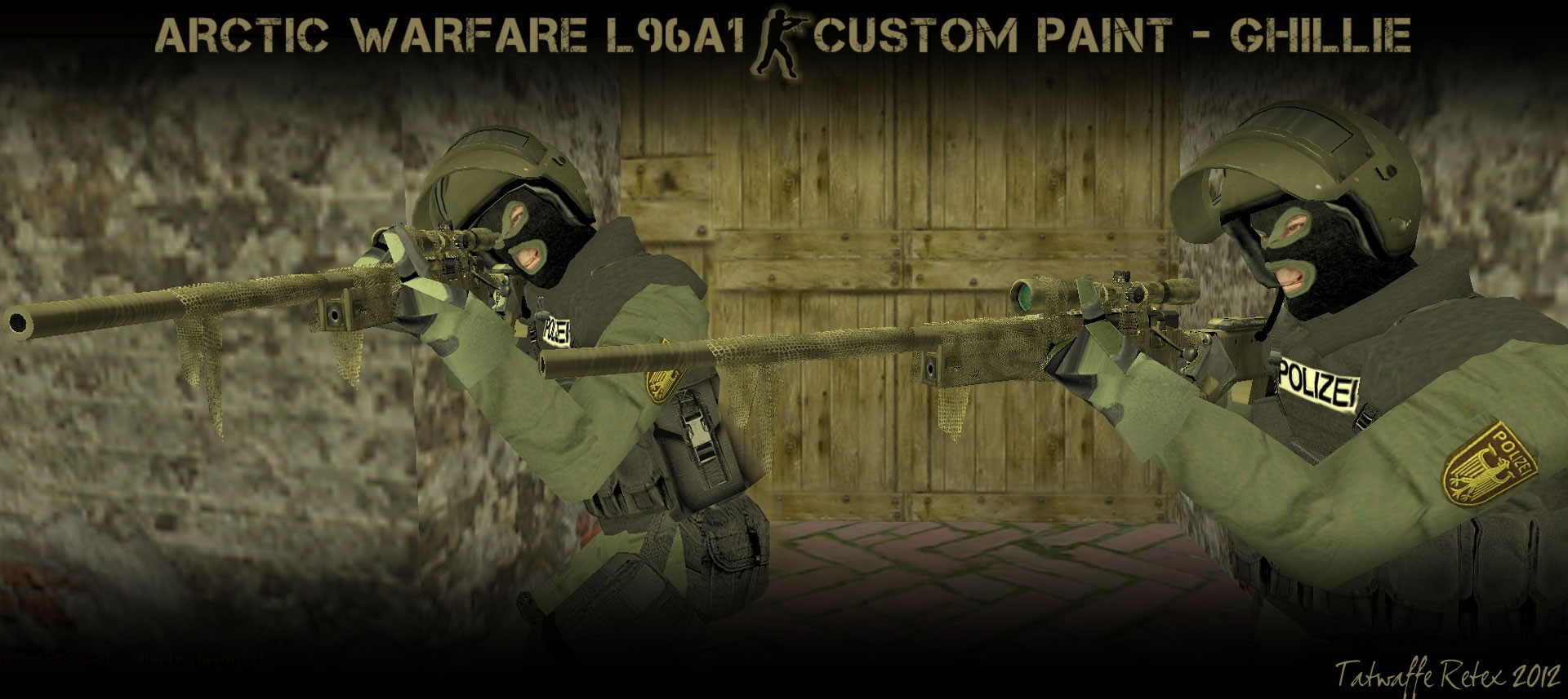 Скриншот AI AW L96A1 Custom Paint Ghillie Retex