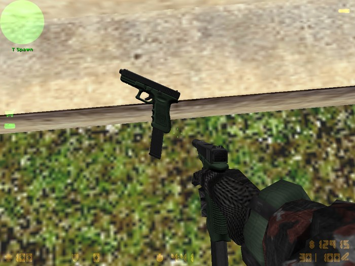 Скриншот Full Auto Glock 17 on MW2 animations