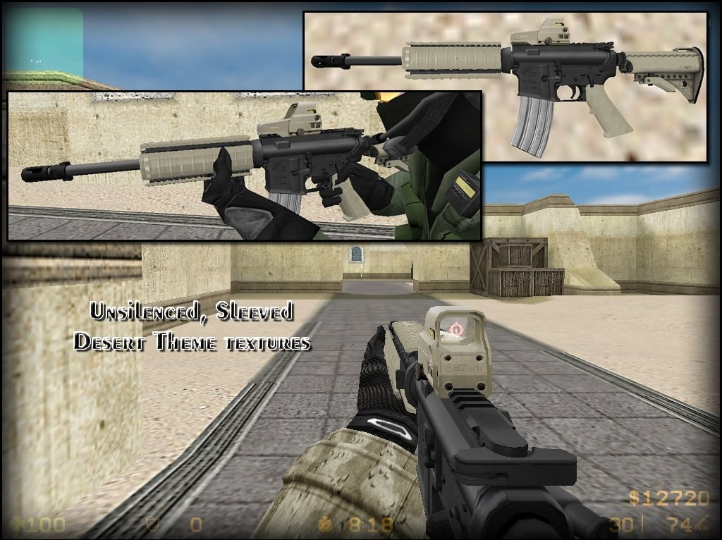 Скриншот MW2-Style Anims on M4 Sleeved (outdated)