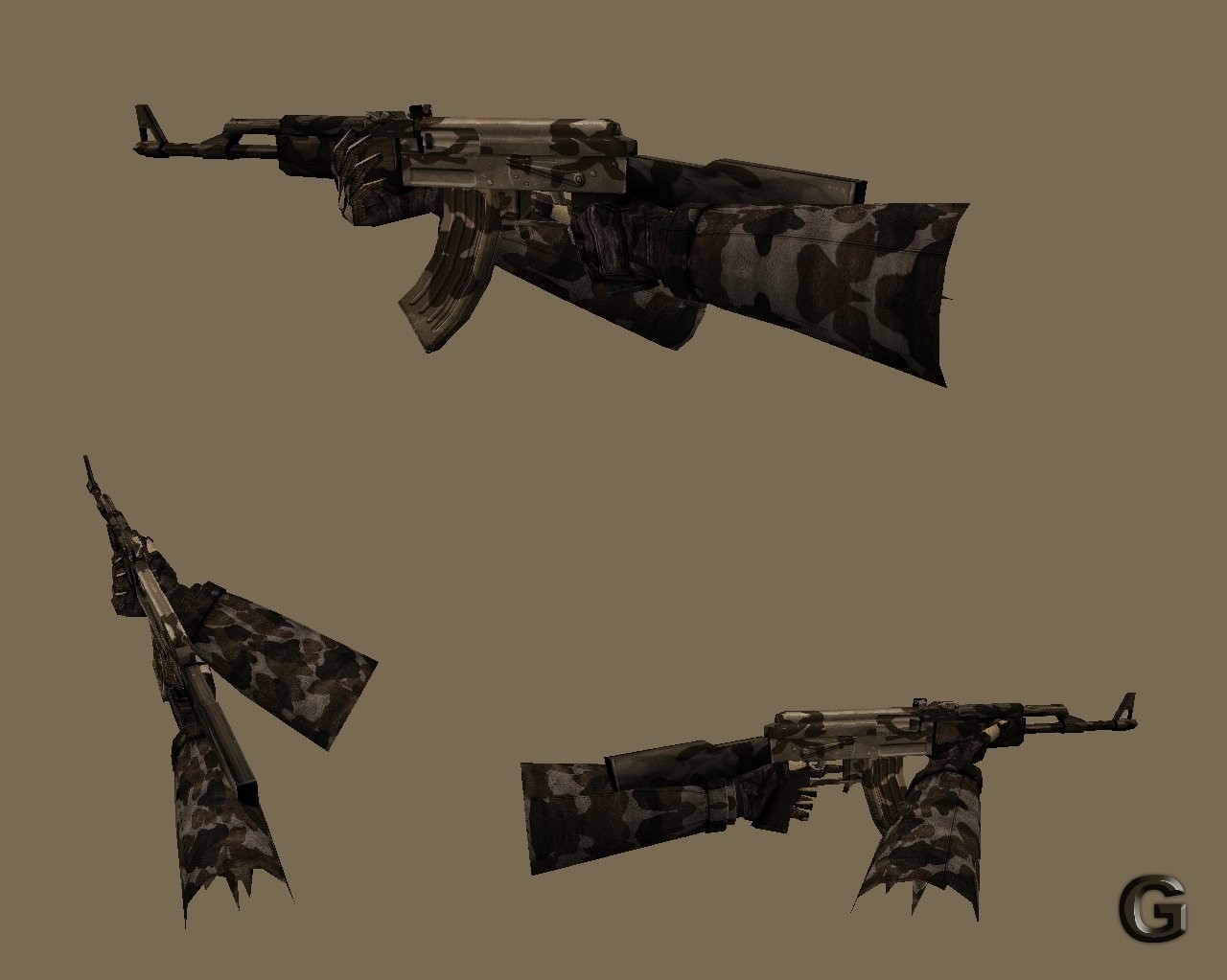 Скриншот Brown AK-47