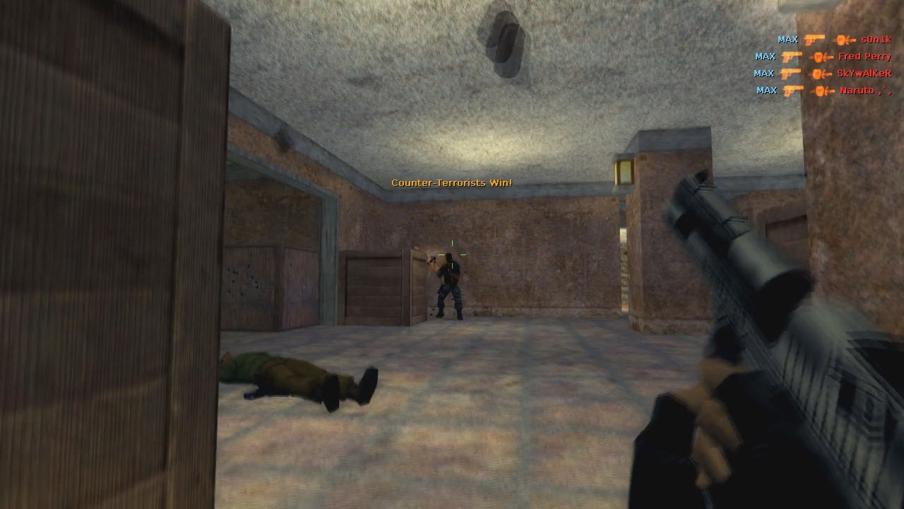 Скриншот Counter-Strike 1.6 v43