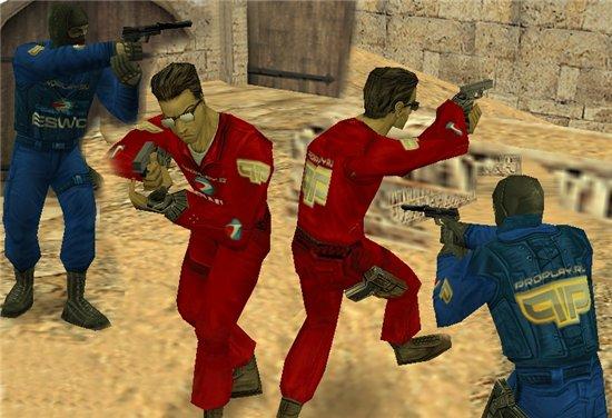 Скачать красные и синие модели игроков cs 1.6